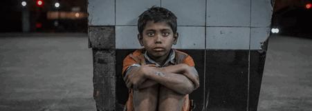 Gadebørn i Bangladesh